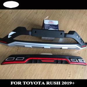 Bộ ốp cản trước sau Toyota Rush