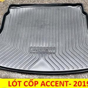 Lót cốp nhựa TPO Hyundai Accent 2019