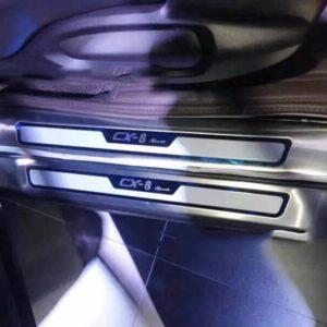Ốp bậc cửa trong ngoài Mazda CX8