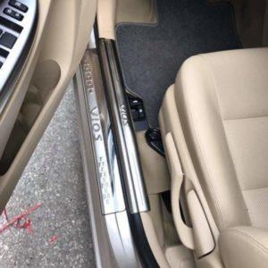 Ốp bậc cửa trong ngoài Toyota Vios