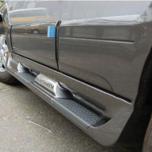 Bậc lên xuống Hyundai Santafe 2007-2012 (Bậc gồ)