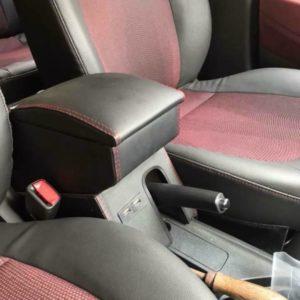 Hộp tỳ tay Hyundai I10 gỗ da