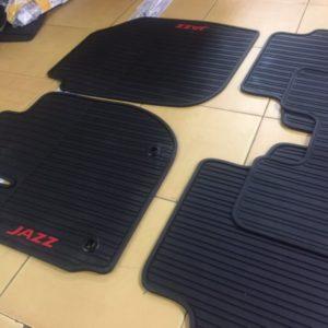 Lót sàn cao su Honda Jazz 3D