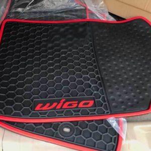 Lót sàn cao su Toyota Wigo