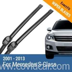 Bộ 2 gạt mưa theo xe Mercedes Benz S 2001 - 2013