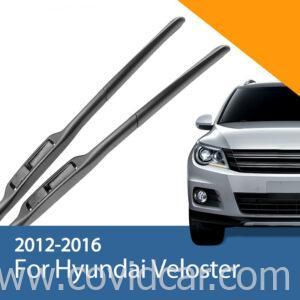 Bộ 2 gạt mưa trước cho xe Hyundai Veloster 2012-2016