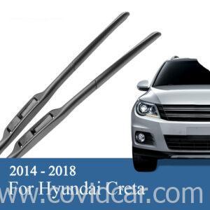 Bộ 2 gạt mưa trước theo xe Hyundai CRETA 2014-2018