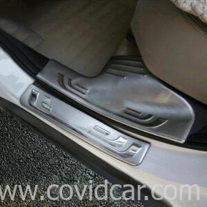 Bộ ốp bậc cửa trong ngoài inox cho Honda CRV 2012-2015