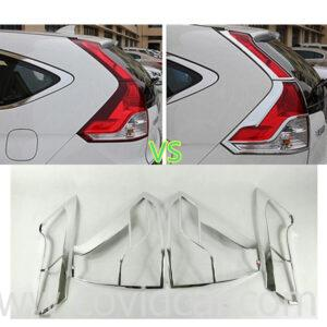 Bộ ốp viền đèn hậu xe Honda CRV 2012-2016