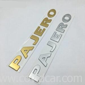 Chữ nổi 3D Pajero cho Mitsubishi Pajero
