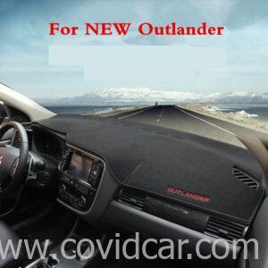 Thảm taplo nỉ cao cấp cho Mitsubishi Outlander 2013-2019