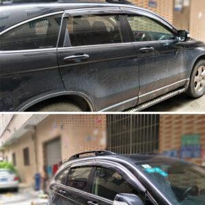 Vè mưa chỉ mạ Honda CRV 2007-2011