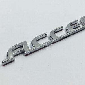 Chữ nổi Accent cao cấp cho Hyundai Accent