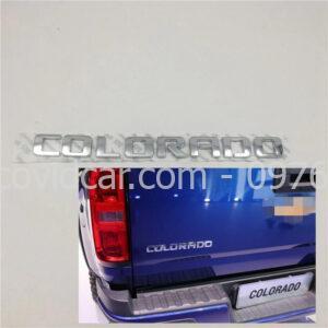 Chữ nổi Colorado cho Chevrolet Colorado LTZ