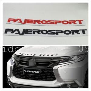Chữ nổi độ capo cho Mitsubishi Pajero Sport