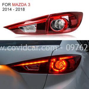 Đèn hậu Mazda 3 độ led nguyên bộ