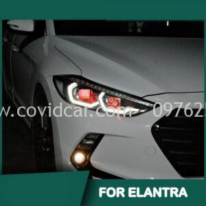 Đèn pha DRL độ cho Hyundai Elantra 2016-2020